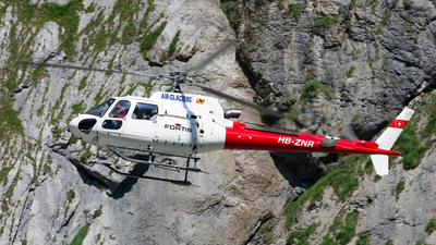 HB-ZNR - Aérospatiale AS 350B3 Ecureuil - Air Glaciers