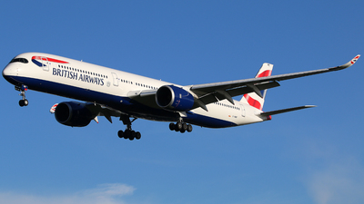 G-XWBF - Airbus A350-1041 - British Airways