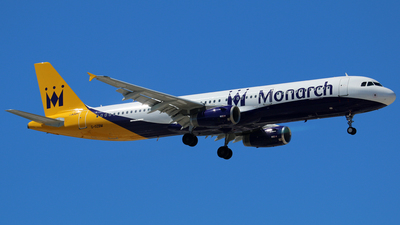G-OZBM - Airbus A321-231 - Monarch Airlines