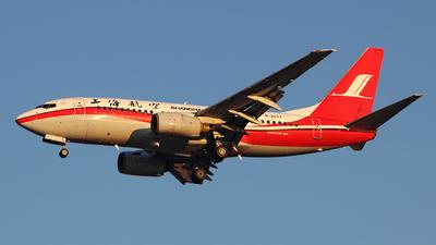 B-2577 - Boeing 737-76D - Shanghai Airlines