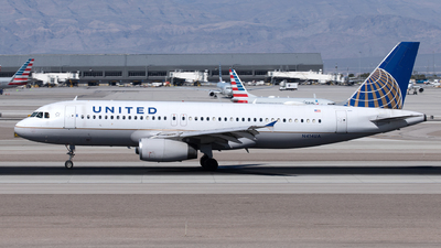 A picture of N414UA - Airbus A320232 - United Airlines - © Yixin Chen