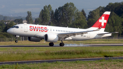 HB-JBH - Bombardier CSeries CS100  - Swiss