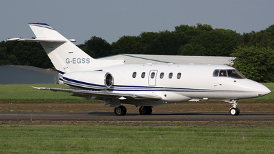 G-EGSS - Raytheon Hawker 800XP - Private