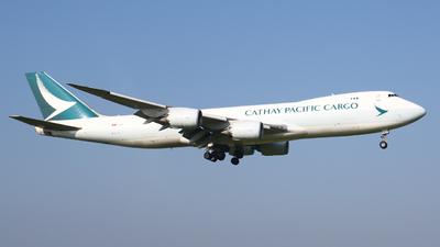 B-LJJ - Boeing 747-867F - Cathay Pacific Cargo