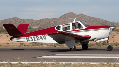 N3224V - Beechcraft 35 Bonanza - Private