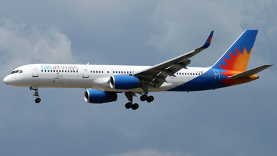 G-LSAK - Boeing 757-23N - RAK Airways (Jet2.com)