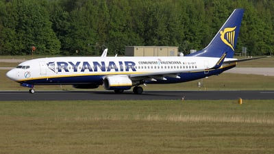 EI-EKT - Boeing 737-8AS - Ryanair