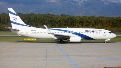 4X-EKP - Boeing 737-8Q8 - El Al Israel Airlines