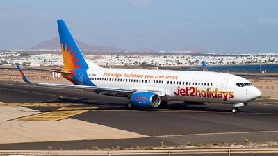 A picture of GJZHN - Boeing 7378MG - Jet2 - © JakkoFly