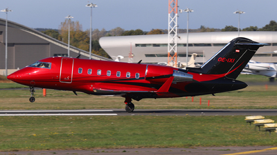 OE-IXI - Bombardier CL-600-2B16 Challenger 605 - Private