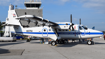 N607NA - De Havilland Canada DHC-6-100 Twin Otter - United States - National Aeronautics and Space Administration (NASA)