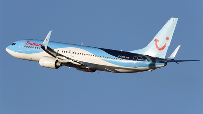 G-FDZR - Boeing 737-8K5 - Thomson Airways