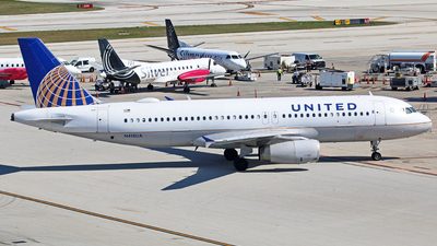 A picture of N418UA - Airbus A320232 - United Airlines - © Brian T Richards