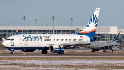 A picture of TCSEM - Boeing 7378HC - SunExpress - © Martin Tietz