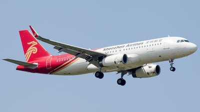 A picture of B8409 - Airbus A320232 - Shenzhen Airlines - © NSZJCuSO4