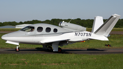 N707SN - Cirrus Vision SF50 - Private