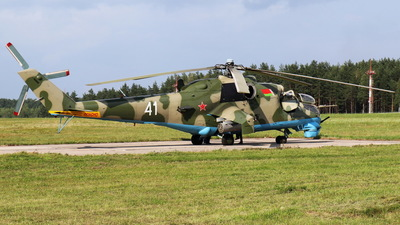 41 - Mil Mi-24V Hind E - Belarus - Air Force