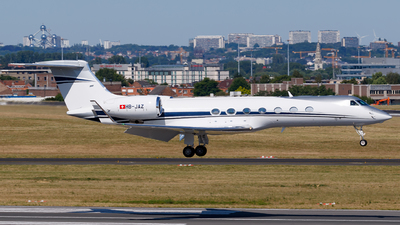 HB-JAZ - Gulfstream G550 - Private