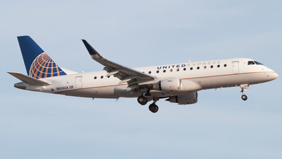 A picture of N604UX - Embraer E175LL - United Airlines - © Connor Cummings