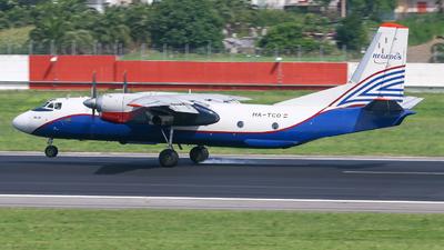 HA-TCO - Antonov An-26B - CityLine Hungary