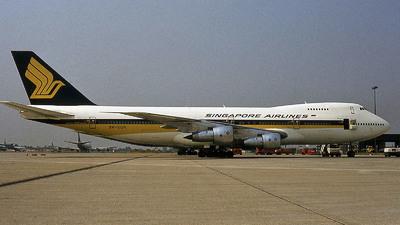 9V-SQH - Boeing 747-212B - Singapore Airlines