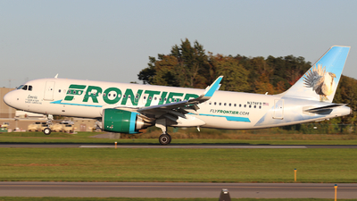 N378FR - Airbus A320-251N - Frontier Airlines