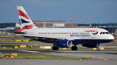G-EUPL - Airbus A319-131 - British Airways