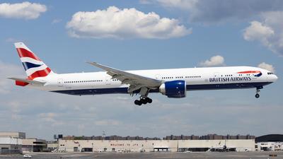 G-STBO - Boeing 777-300ER - British Airways