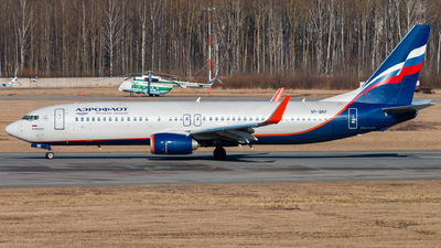 A picture of VPBKF - Boeing 7378MC - Aeroflot - © KomradAlexey