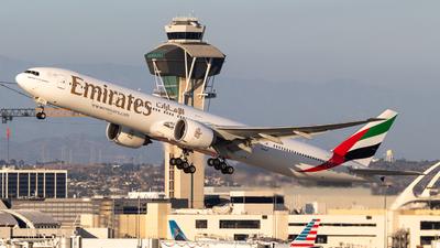 A picture of A6EQD - Boeing 77731H(ER) - Emirates - © Alex Crail