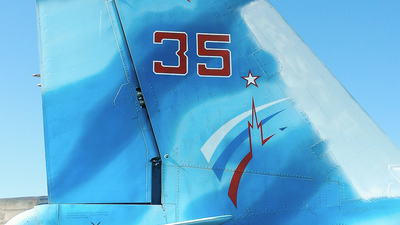 35 - Sukhoi Su-27 Flanker - Russia - Air Force
