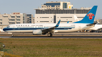 A picture of B5676 - Boeing 73781B - China Southern Airlines - © Sweet Potato