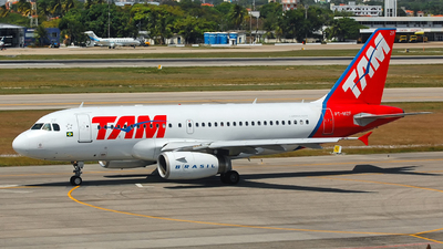 PT-MZF - Airbus A319-132 - TAM Linhas Aéreas