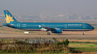 A picture of VNA362 - Airbus A321231 - Vietnam Airlines - © Huy Do