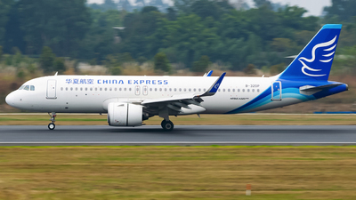 A picture of B320P - Airbus A320271N - China Express Airlines - © Miaomiao