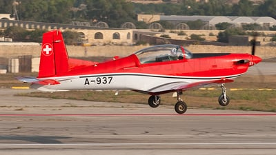 A-937 - Pilatus PC-7 - Switzerland - Air Force
