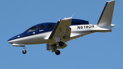 N619DH - Cirrus Vision SF50 - Private