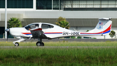 9M-HMK - Diamond DA-40D Diamond Star TDI - HM Aerospace