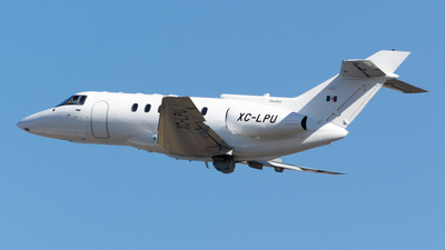 XC-LPU - British Aerospace BAe 125-800A - Mexico - Government