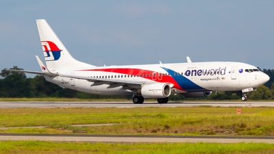 A picture of 9MMXC - Boeing 7378H6 - Malaysia Airlines - © JC28