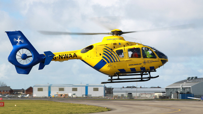 G-NWAA - Eurocopter EC 135T2 - Bond Air Services