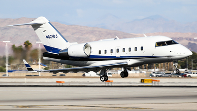 N621DJ - Bombardier CL-600-2B16 Challenger 601 - Private