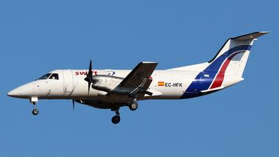 A picture of ECHFK - Embraer EMB120FC Brasilia - Swiftair - © Philipp Schuetz