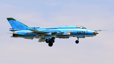 5878 - Sukhoi Su-22M4 Fitter K - Vietnam - Air Force
