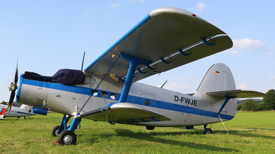 D-FWJE - PZL-Mielec An-2T - Private