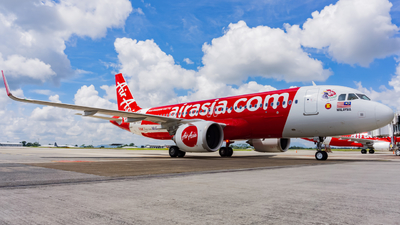 A picture of 9MRAR - Airbus A320251N - AirAsia - © Nigel Shim
