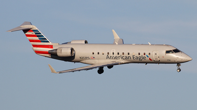 N253PS - Bombardier CRJ-200ER - American Eagle (PSA Airlines)