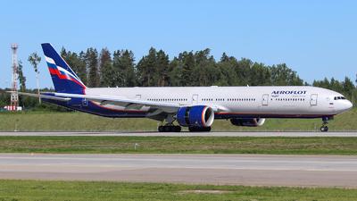 A picture of VQBQM - Boeing 7773M0(ER) - Aeroflot - © Vitaly Revyakin
