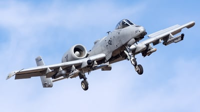 78-0627 - Fairchild A-10C Thunderbolt II - United States - US Air Force (USAF)