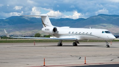 N235DX - Gulfstream G550 - Private